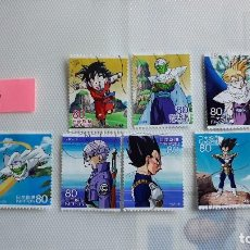 Sellos: DRAGON BALL Z SELLOS USADOS JAPON. Lote 115529471