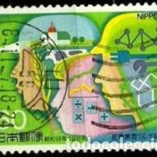 Sellos: JAPON MI 1612 EDUCACION TECNICA E INDUSTRIAL (USADO). Lote 218706717