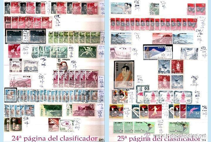 Sellos: STOCK JAPON SELLOS NUEVOS Y USADOS DE CLÁSICO HASTA 1980.VARIEDAD Y ALTO VALOR DE CATº+16.000 €. - Foto 11 - 140790686