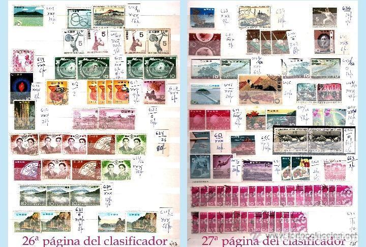 Sellos: STOCK JAPON SELLOS NUEVOS Y USADOS DE CLÁSICO HASTA 1980.VARIEDAD Y ALTO VALOR DE CATº+16.000 €. - Foto 15 - 140790686