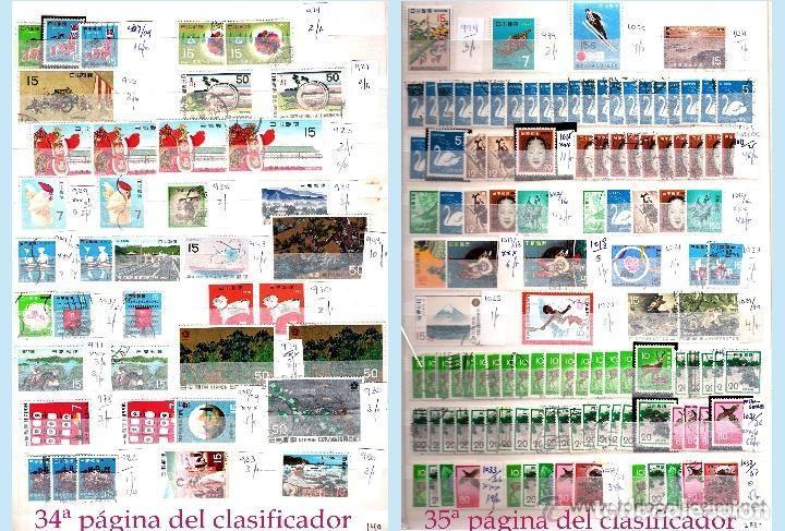 Sellos: STOCK JAPON SELLOS NUEVOS Y USADOS DE CLÁSICO HASTA 1980.VARIEDAD Y ALTO VALOR DE CATº+16.000 €. - Foto 19 - 140790686