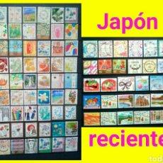 Sellos: JAPON LOTE DE 108 SELLOS USADOS RECIENTES DIFERENTES. Lote 143372354
