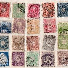 Sellos: LOTE DE SELLOS CLASICOS DE JAPON, VER IMAGENES. Lote 171386643
