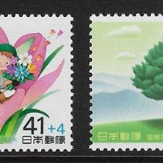 Sellos: JAPÓN. YVERT NSº 1791/92 NUEVOS. Lote 190879973