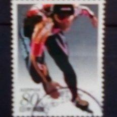 Timbres: JAPON OLIMPIADAS DE INVIERNO NAGANO 1998 SELLO USADO. Lote 191586983
