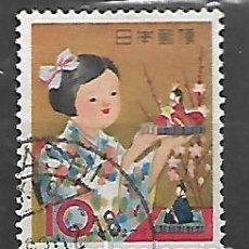 Sellos: JAPON SERIE Nº 704 DE 1962/63 MATASELLADA. Lote 195229875