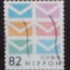 Sellos: JAPON SERIE BASICA SELLO USADO. Lote 203110066