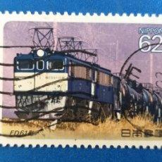 Sellos: SELLO DE JAPON. USADO. Nº YVERT 1849. AÑO 1990. LOCOMOTORAS ELECTRICAS.. Lote 206772943