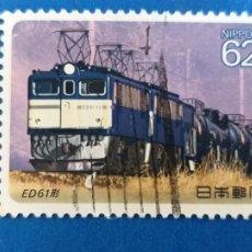 Sellos: SELLO DE JAPON. USADO. Nº YVERT 1849. AÑO 1990. LOCOMOTORAS ELECTRICAS.. Lote 206773688