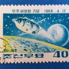 Sellos: SELLO DE JAPON. USADO. Nº YVERT 710. CONQUISTA DEL ESPACIO. Lote 206789487