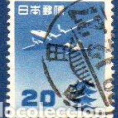 Sellos: JAPÓN.- AÑO 1951, CATÁLOGO YVERT Nº AEREO 13, EN USADO. Lote 221609205