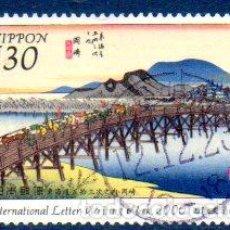Sellos: JAPÓN.- SELLO DEL AÑO 2000, EN USADO. Lote 221610525