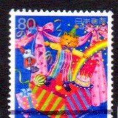 Sellos: JAPÓN.- SELLO DEL AÑO 1998, EN USADO. Lote 221617933