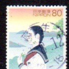Sellos: JAPÓN.- SELLO DEL AÑO 1998, EN USADO. Lote 221617943