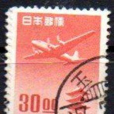Sellos: JAPÓN.- SELLO DEL AÑO 1951, CORREO AÉREO, EN USADO. Lote 221618228