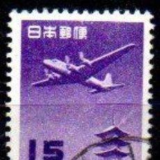 Sellos: JAPÓN.- SELLOS DEL AÑO 1951, CORREO AÉREO, EN USADOS. Lote 221618285