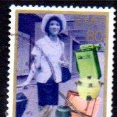 Sellos: JAPÓN.- SELLO DEL AÑO 1996, EN USADO. Lote 221618666