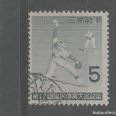 Sellos: LOTE (6) SELLO JAPON DEPORTES BEISBOL. Lote 221752176