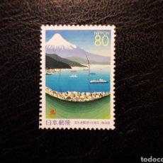 Sellos: JAPÓN YVERT 2623 SERIE COMPLETA USADA. 1999. MONTE FUJI Y PUERTO DE SHIMIZU. Lote 221927046