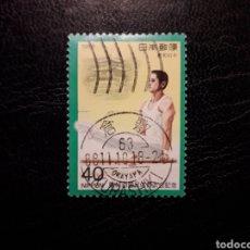 Sellos: JAPÓN YVERT 1709 SERIE COMPLETA USADA. 1988. DEPORTES. GIMNASIA. BARRAS PARALELAS. Lote 222280207