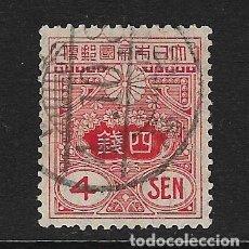 Sellos: JAPÓN - CLÁSICO. YVERT Nº 133 USADO Y DEFECTUOSO. Lote 222943900