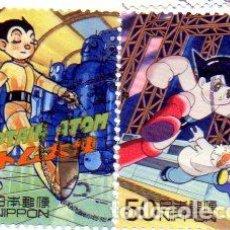 Sellos: JAPÓN.- SELLOS DEL AÑO 2000, EN USADOS. Lote 225343580