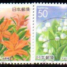 Sellos: JAPÓN.- AÑO 2005.- SERIE COMPLETA, EN USADO. Lote 233595310