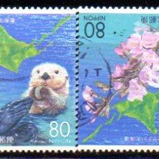 Sellos: JAPÓN.- AÑO 2005.- SERIE COMPLETA, EN USADO. Lote 233595535