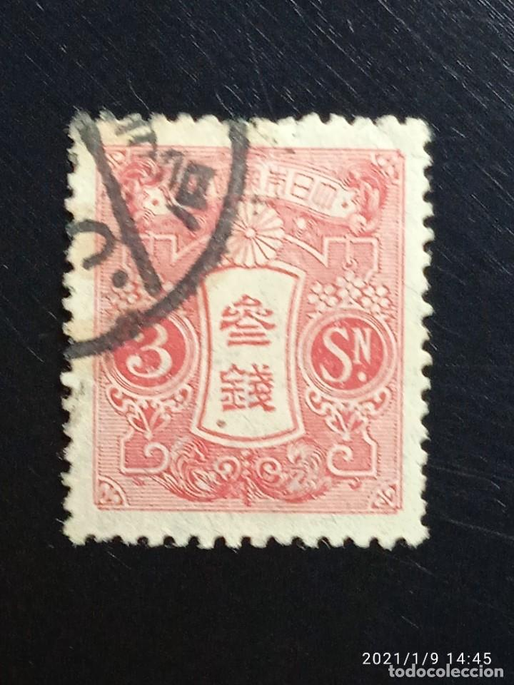 JAPON 3 SEN, AÑO 1913. USADO.. (Sellos - Extranjero - Asia - Japón)