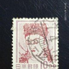 Sellos: JAPON 10 SEN, AÑO 1953 USADO... Lote 234962780