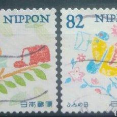 Sellos: JAPON ANIMACIÓN SERIE DE SELLOS USADOS. Lote 254894165
