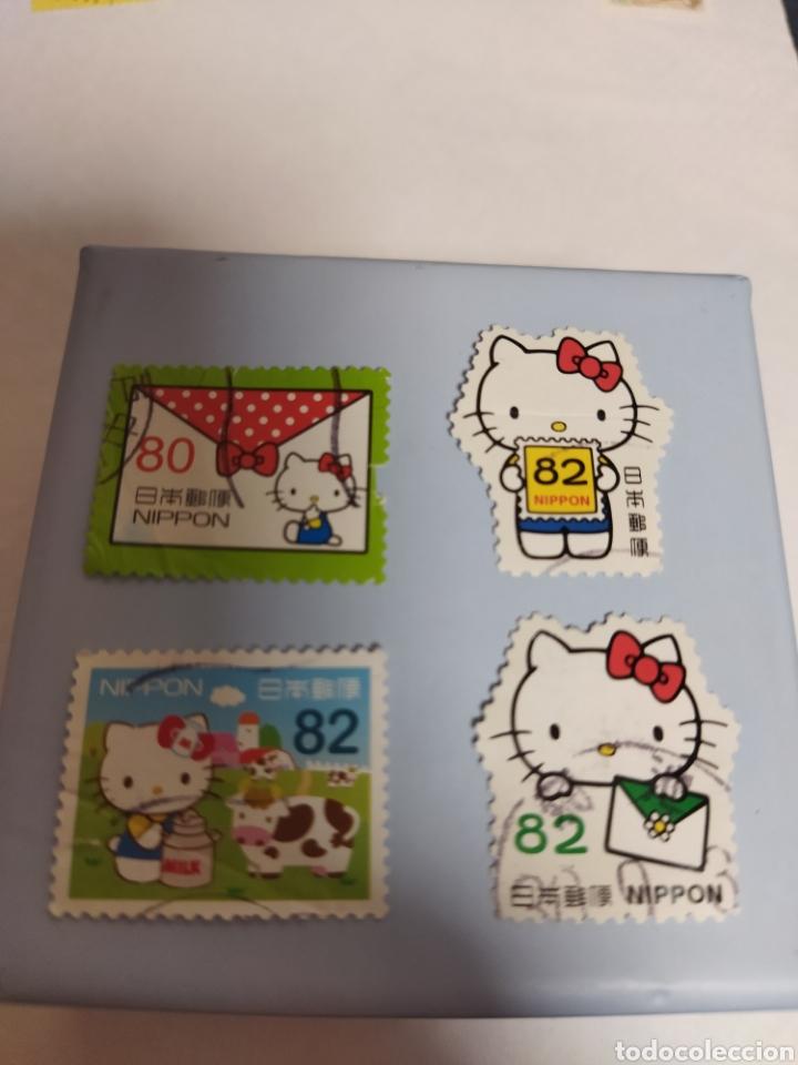 Sellos: Sellos de Japón hello Kitty - Foto 2 - 276285243