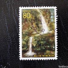 Sellos: JAPÓN YVERT 2195 SERIE COMPLETA USADA 1995. SALTO DE AGUA. CASCADA. PEDIDO MÍNIMO 3 €. Lote 278881328