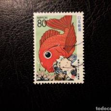 Sellos: JAPÓN YVERT 2218 SERIE COMPLETA USADA 1995. PREFECTURA SAGA. PEDIDO MÍNIMO 3 €. Lote 280129083