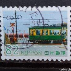 Sellos: JAPON TRANVÍA SELLO USADO. Lote 295393053