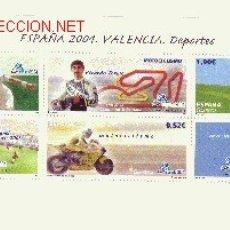 Sellos: ESPAÑA EDIFIL 4091 HB*** - AÑO 2004 - EXPOSICION MUNDIAL DE FILATELIA ESPAÑA 2004 - VALENCIA. Lote 22914732