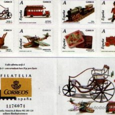 Sellos: SERIE COMPLETA DE 8 SELLOS AUTOADHESIVOS DEDICADOS A LOS JUGUETES DE TARIFA A. Lote 44446638