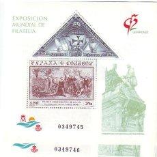 Sellos: 3195 EXPOSICIÓN GRANADA'92**. 5 SERIES. 1992. Lote 4863480