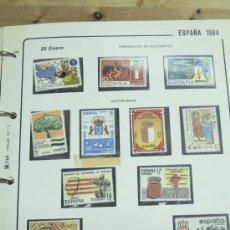 Sellos: SELLOS ESPAÑA 1984 SERIES COMPLETAS 4 HOJAS SFADE. Lote 5399829