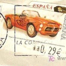 Sellos: 2 SELLOS DE ESPAÑA. MOTIVO AUTOMÓVILES.. Lote 6153910