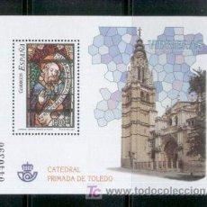 Sellos: VIDRIERAS CATEDRAL DE TOLEDO.-2004 .-NUEVA PERFECTA.-Nº EDIFIL4132. Lote 7017708
