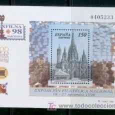 Sellos: ESFILNA 1988 CATEDRAL DE BARCELONA.-MUY BARATA .-Nº EDIFIL 3557. Lote 7017974