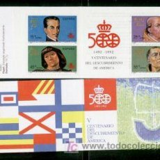 Sellos: 1991.-CARTERILLA V CENTº DESCUBRIMIENTO DE AMERICA.-Nº EDIFIL 3137C. Lote 7027265