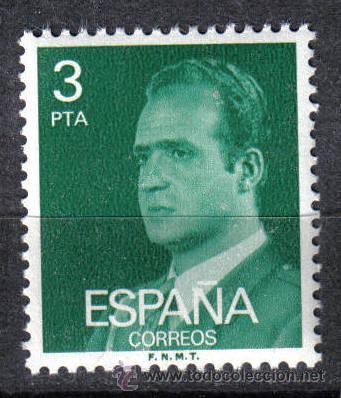 ESPAÑA 1976 - 3 P EDIFIL 2346. JUAN CARLOS I. NUEVO SIN CHARNELA (Sellos - España - Juan Carlos I - Desde 1.975 a 1.985 - Nuevos)