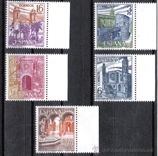 ESPAÑA 1983 - SERIE EDIFIL 2724-28. PAISAJES Y MONUMENTOS. NUEVO SIN CHARNELA (Sellos - España - Juan Carlos I - Desde 1.975 a 1.985 - Nuevos)
