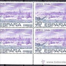 Sellos: BLOQUE DE CUATRO - 1983 EDIFIL 2720 - AMERICA - ESPAÑA - NUEVOS SIN CHARNELA. Lote 8217031