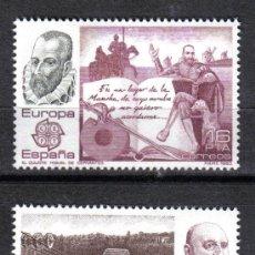 Sellos: ESPAÑA 1983 - SERIE EUROPA CEPT EDIFIL 2703 A 2704 - NUEVO SIN CHARNELA. Lote 8284810