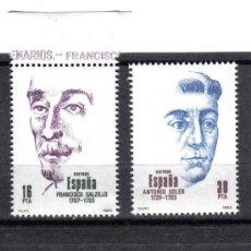 Sellos: ESPAÑA 1983 - SERIE PERSONAJES EDIFIL 2705 A 2708 - NUEVO SIN CHARNELA. Lote 8284829