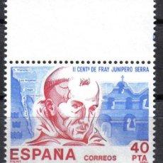 Sellos: ESPAÑA 1984 - 40 PTS EDIFIL 2775 - AMERICA- ESPAÑA - NUEVO SIN CHARNELA. Lote 8285221