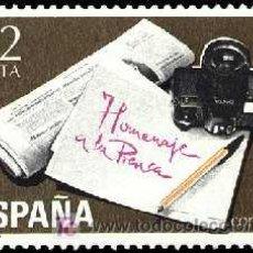 Sellos: ESPAÑA 1981 2610 PRENSA. Lote 8535451